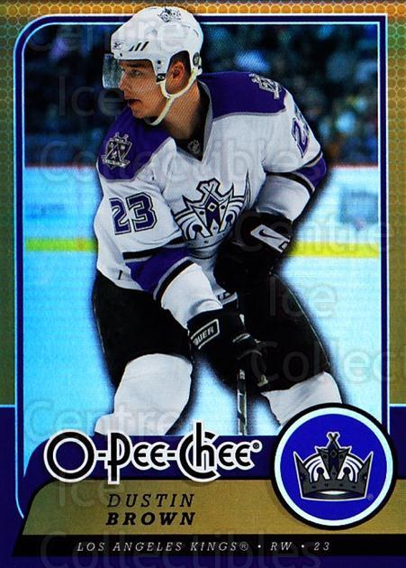 2008-09 O-pee-chee Gold #483 Dustin Brown<br/>1 In Stock - $2.00 each - <a href=https://centericecollectibles.foxycart.com/cart?name=2008-09%20O-pee-chee%20Gold%20%23483%20Dustin%20Brown...&quantity_max=1&price=$2.00&code=290566 class=foxycart> Buy it now! </a>