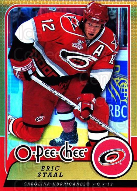 2008-09 O-pee-chee Gold #487 Eric Staal<br/>1 In Stock - $2.00 each - <a href=https://centericecollectibles.foxycart.com/cart?name=2008-09%20O-pee-chee%20Gold%20%23487%20Eric%20Staal...&quantity_max=1&price=$2.00&code=290570 class=foxycart> Buy it now! </a>