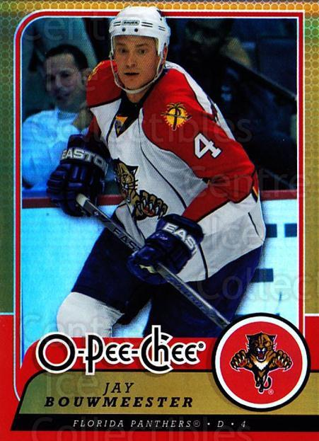 2008-09 O-pee-chee Gold #493 Jay Bouwmeester<br/>1 In Stock - $2.00 each - <a href=https://centericecollectibles.foxycart.com/cart?name=2008-09%20O-pee-chee%20Gold%20%23493%20Jay%20Bouwmeester...&quantity_max=1&price=$2.00&code=290576 class=foxycart> Buy it now! </a>
