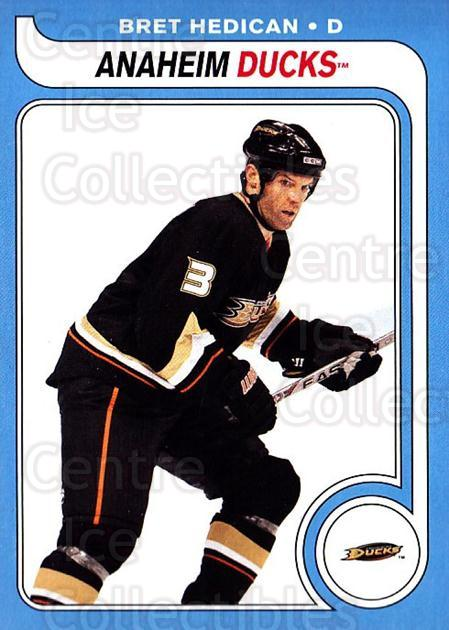 2008-09 O-pee-chee Retro #702 Bret Hedican<br/>1 In Stock - $2.00 each - <a href=https://centericecollectibles.foxycart.com/cart?name=2008-09%20O-pee-chee%20Retro%20%23702%20Bret%20Hedican...&quantity_max=1&price=$2.00&code=291585 class=foxycart> Buy it now! </a>