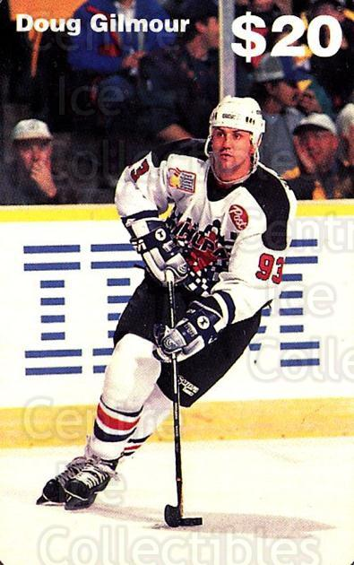 1994 NHLPA Phone Cards Sample #1 Doug Gilmour<br/>1 In Stock - $15.00 each - <a href=https://centericecollectibles.foxycart.com/cart?name=1994%20NHLPA%20Phone%20Cards%20Sample%20%231%20Doug%20Gilmour...&quantity_max=1&price=$15.00&code=2915 class=foxycart> Buy it now! </a>