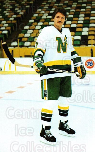 1982-83 Minnesota North Stars Postcards #9 George Ferguson<br/>2 In Stock - $3.00 each - <a href=https://centericecollectibles.foxycart.com/cart?name=1982-83%20Minnesota%20North%20Stars%20Postcards%20%239%20George%20Ferguson...&quantity_max=2&price=$3.00&code=29224 class=foxycart> Buy it now! </a>
