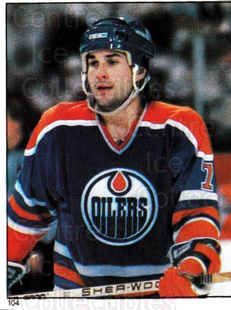1982-83 O-Pee-Chee Stickers #104 Paul Coffey<br/>1 In Stock - $3.00 each - <a href=https://centericecollectibles.foxycart.com/cart?name=1982-83%20O-Pee-Chee%20Stickers%20%23104%20Paul%20Coffey...&quantity_max=1&price=$3.00&code=29230 class=foxycart> Buy it now! </a>