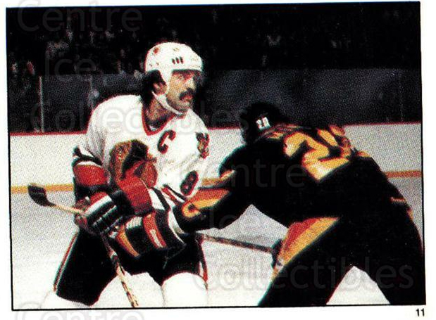 1982-83 O-Pee-Chee Stickers #11 Gerry Minor, Terry Ruskowski<br/>4 In Stock - $2.00 each - <a href=https://centericecollectibles.foxycart.com/cart?name=1982-83%20O-Pee-Chee%20Stickers%20%2311%20Gerry%20Minor,%20Te...&quantity_max=4&price=$2.00&code=29235 class=foxycart> Buy it now! </a>