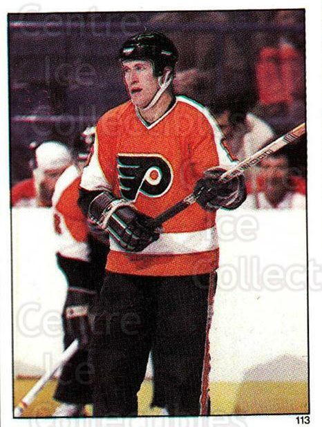 1982-83 O-Pee-Chee Stickers #113 Ron Flockhart<br/>5 In Stock - $2.00 each - <a href=https://centericecollectibles.foxycart.com/cart?name=1982-83%20O-Pee-Chee%20Stickers%20%23113%20Ron%20Flockhart...&quantity_max=5&price=$2.00&code=29239 class=foxycart> Buy it now! </a>