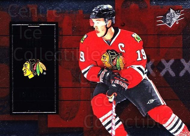 2009-10 Spx #10 Jonathan Toews<br/>5 In Stock - $2.00 each - <a href=https://centericecollectibles.foxycart.com/cart?name=2009-10%20Spx%20%2310%20Jonathan%20Toews...&quantity_max=5&price=$2.00&code=293312 class=foxycart> Buy it now! </a>