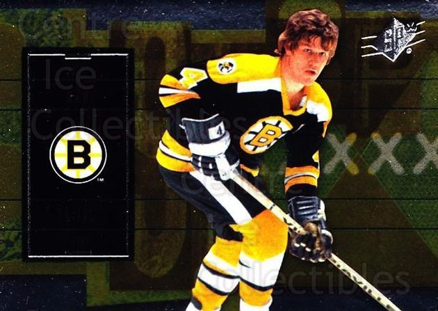 2009-10 Spx #12 Bobby Orr<br/>4 In Stock - $3.00 each - <a href=https://centericecollectibles.foxycart.com/cart?name=2009-10%20Spx%20%2312%20Bobby%20Orr...&quantity_max=4&price=$3.00&code=293314 class=foxycart> Buy it now! </a>