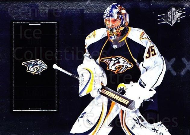 2009-10 Spx #27 Pekka Rinne<br/>4 In Stock - $1.00 each - <a href=https://centericecollectibles.foxycart.com/cart?name=2009-10%20Spx%20%2327%20Pekka%20Rinne...&quantity_max=4&price=$1.00&code=293329 class=foxycart> Buy it now! </a>