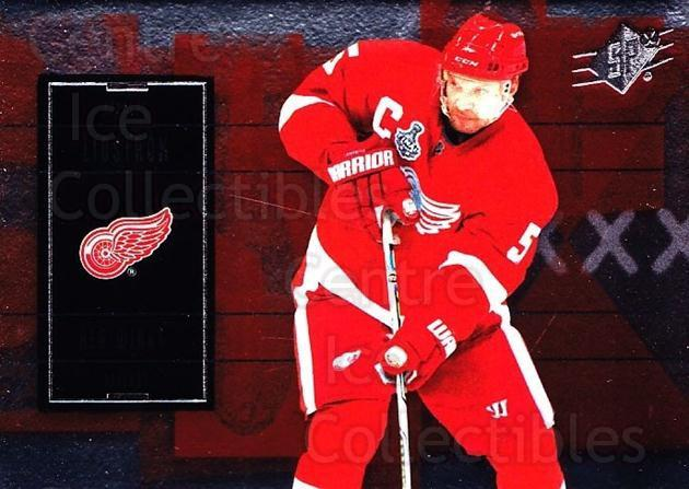 2009-10 Spx #35 Nicklas Lidstrom<br/>5 In Stock - $1.00 each - <a href=https://centericecollectibles.foxycart.com/cart?name=2009-10%20Spx%20%2335%20Nicklas%20Lidstro...&quantity_max=5&price=$1.00&code=293337 class=foxycart> Buy it now! </a>