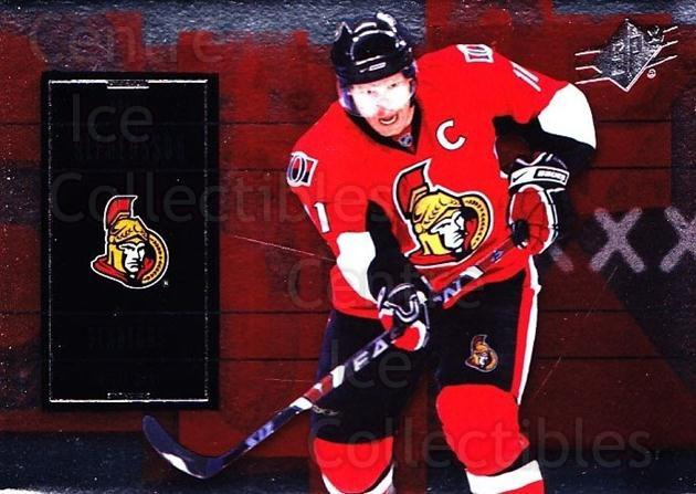 2009-10 Spx #77 Daniel Alfredsson<br/>5 In Stock - $1.00 each - <a href=https://centericecollectibles.foxycart.com/cart?name=2009-10%20Spx%20%2377%20Daniel%20Alfredss...&quantity_max=5&price=$1.00&code=293379 class=foxycart> Buy it now! </a>