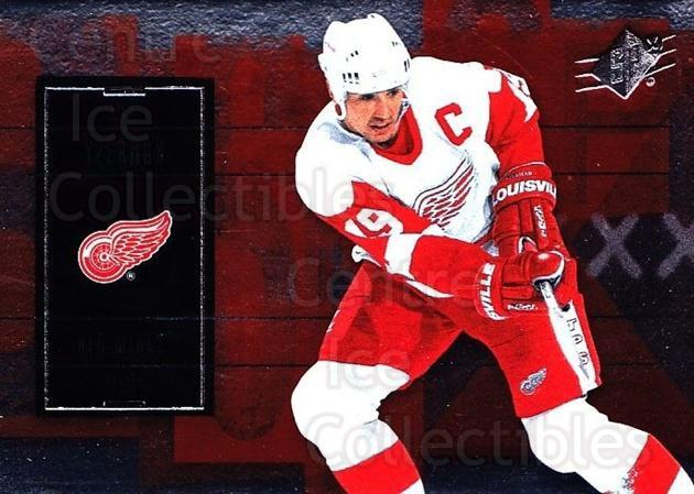 2009-10 Spx #79 Steve Yzerman<br/>3 In Stock - $2.00 each - <a href=https://centericecollectibles.foxycart.com/cart?name=2009-10%20Spx%20%2379%20Steve%20Yzerman...&quantity_max=3&price=$2.00&code=293381 class=foxycart> Buy it now! </a>