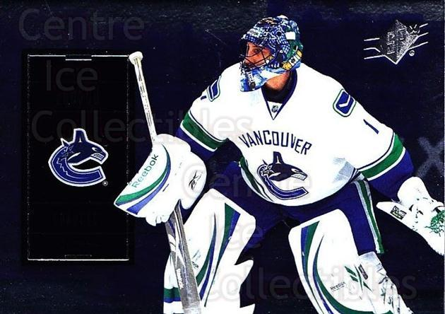 2009-10 Spx #80 Roberto Luongo<br/>5 In Stock - $1.00 each - <a href=https://centericecollectibles.foxycart.com/cart?name=2009-10%20Spx%20%2380%20Roberto%20Luongo...&quantity_max=5&price=$1.00&code=293382 class=foxycart> Buy it now! </a>