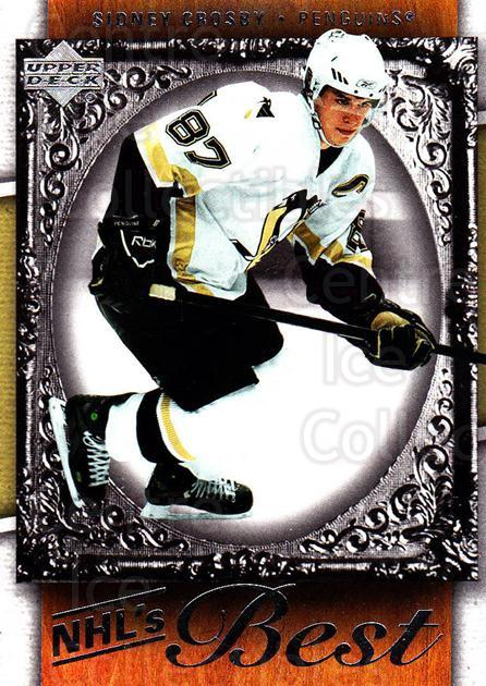 2007-08 Upper Deck NHLs Best #1 Sidney Crosby<br/>2 In Stock - $5.00 each - <a href=https://centericecollectibles.foxycart.com/cart?name=2007-08%20Upper%20Deck%20NHLs%20Best%20%231%20Sidney%20Crosby...&quantity_max=2&price=$5.00&code=293467 class=foxycart> Buy it now! </a>