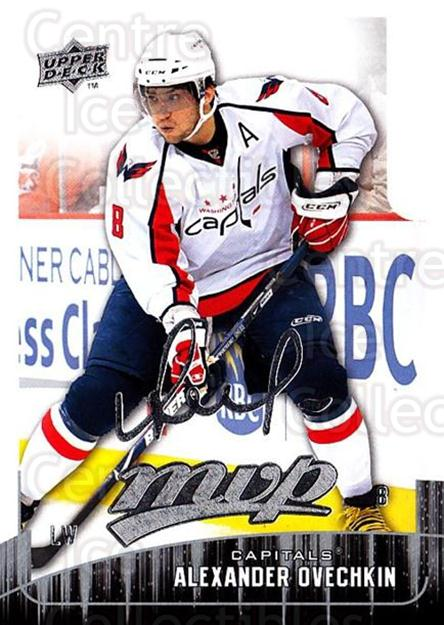 2009-10 Upper Deck MVP #1 Alexander Ovechkin<br/>3 In Stock - $2.00 each - <a href=https://centericecollectibles.foxycart.com/cart?name=2009-10%20Upper%20Deck%20MVP%20%231%20Alexander%20Ovech...&quantity_max=3&price=$2.00&code=293498 class=foxycart> Buy it now! </a>