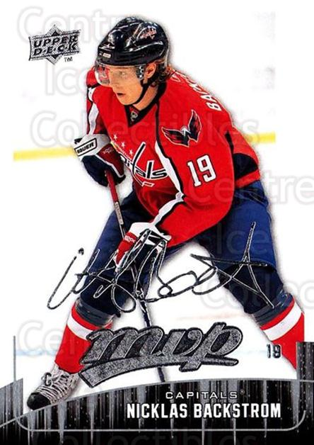 2009-10 Upper Deck MVP #2 Nicklas Backstrom<br/>5 In Stock - $1.00 each - <a href=https://centericecollectibles.foxycart.com/cart?name=2009-10%20Upper%20Deck%20MVP%20%232%20Nicklas%20Backstr...&quantity_max=5&price=$1.00&code=293499 class=foxycart> Buy it now! </a>