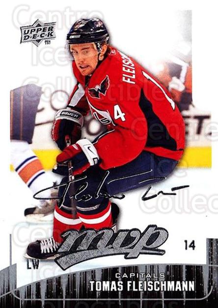 2009-10 Upper Deck MVP #6 Tomas Fleischmann<br/>5 In Stock - $1.00 each - <a href=https://centericecollectibles.foxycart.com/cart?name=2009-10%20Upper%20Deck%20MVP%20%236%20Tomas%20Fleischma...&quantity_max=5&price=$1.00&code=293503 class=foxycart> Buy it now! </a>