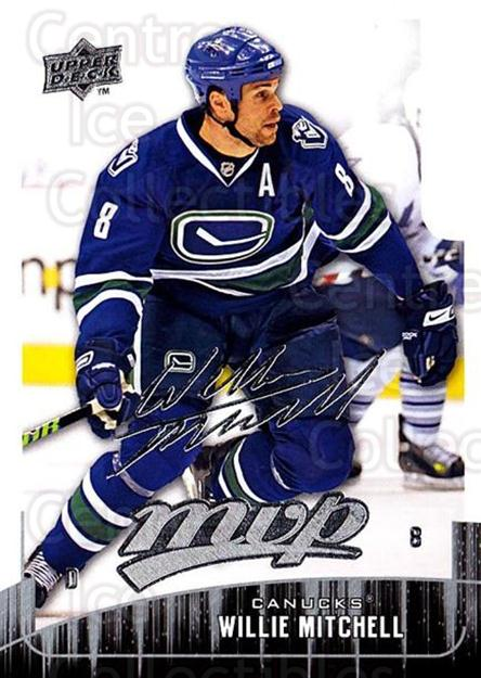 2009-10 Upper Deck MVP #19 Willie Mitchell<br/>5 In Stock - $1.00 each - <a href=https://centericecollectibles.foxycart.com/cart?name=2009-10%20Upper%20Deck%20MVP%20%2319%20Willie%20Mitchell...&quantity_max=5&price=$1.00&code=293516 class=foxycart> Buy it now! </a>