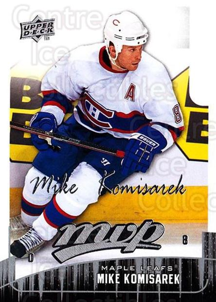 2009-10 Upper Deck MVP #30 Mike Komisarek<br/>5 In Stock - $1.00 each - <a href=https://centericecollectibles.foxycart.com/cart?name=2009-10%20Upper%20Deck%20MVP%20%2330%20Mike%20Komisarek...&quantity_max=5&price=$1.00&code=293527 class=foxycart> Buy it now! </a>