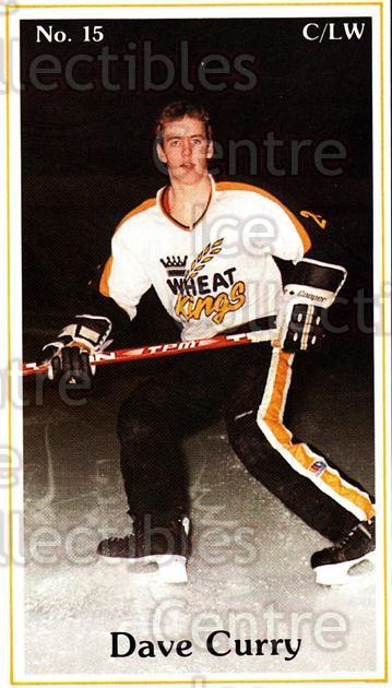 1983-84 Brandon Wheat Kings #23 Dave Curry<br/>3 In Stock - $3.00 each - <a href=https://centericecollectibles.foxycart.com/cart?name=1983-84%20Brandon%20Wheat%20Kings%20%2323%20Dave%20Curry...&quantity_max=3&price=$3.00&code=29354 class=foxycart> Buy it now! </a>