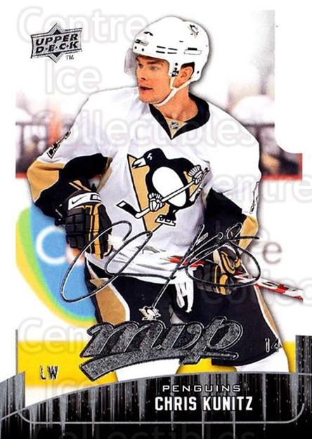 2009-10 Upper Deck MVP #62 Chris Kunitz<br/>5 In Stock - $1.00 each - <a href=https://centericecollectibles.foxycart.com/cart?name=2009-10%20Upper%20Deck%20MVP%20%2362%20Chris%20Kunitz...&quantity_max=5&price=$1.00&code=293559 class=foxycart> Buy it now! </a>