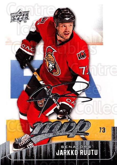 2009-10 Upper Deck MVP #96 Jarkko Ruutu<br/>5 In Stock - $1.00 each - <a href=https://centericecollectibles.foxycart.com/cart?name=2009-10%20Upper%20Deck%20MVP%20%2396%20Jarkko%20Ruutu...&quantity_max=5&price=$1.00&code=293593 class=foxycart> Buy it now! </a>