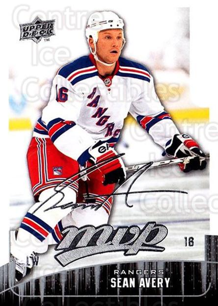2009-10 Upper Deck MVP #101 Sean Avery<br/>5 In Stock - $1.00 each - <a href=https://centericecollectibles.foxycart.com/cart?name=2009-10%20Upper%20Deck%20MVP%20%23101%20Sean%20Avery...&quantity_max=5&price=$1.00&code=293598 class=foxycart> Buy it now! </a>