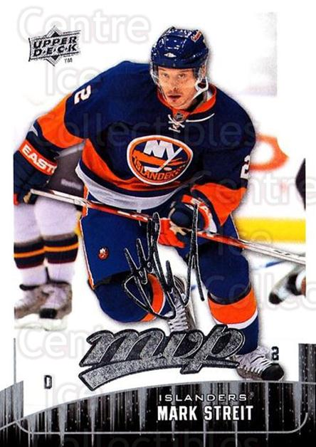 2009-10 Upper Deck MVP #110 Mark Streit<br/>5 In Stock - $1.00 each - <a href=https://centericecollectibles.foxycart.com/cart?name=2009-10%20Upper%20Deck%20MVP%20%23110%20Mark%20Streit...&quantity_max=5&price=$1.00&code=293607 class=foxycart> Buy it now! </a>