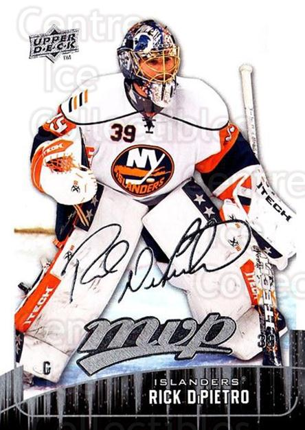 2009-10 Upper Deck MVP #116 Rick DiPietro<br/>4 In Stock - $1.00 each - <a href=https://centericecollectibles.foxycart.com/cart?name=2009-10%20Upper%20Deck%20MVP%20%23116%20Rick%20DiPietro...&quantity_max=4&price=$1.00&code=293613 class=foxycart> Buy it now! </a>