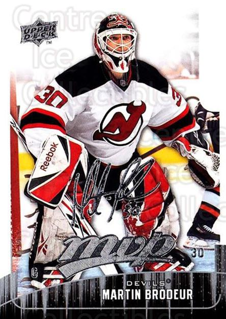 2009-10 Upper Deck MVP #119 Martin Brodeur<br/>2 In Stock - $2.00 each - <a href=https://centericecollectibles.foxycart.com/cart?name=2009-10%20Upper%20Deck%20MVP%20%23119%20Martin%20Brodeur...&quantity_max=2&price=$2.00&code=293616 class=foxycart> Buy it now! </a>