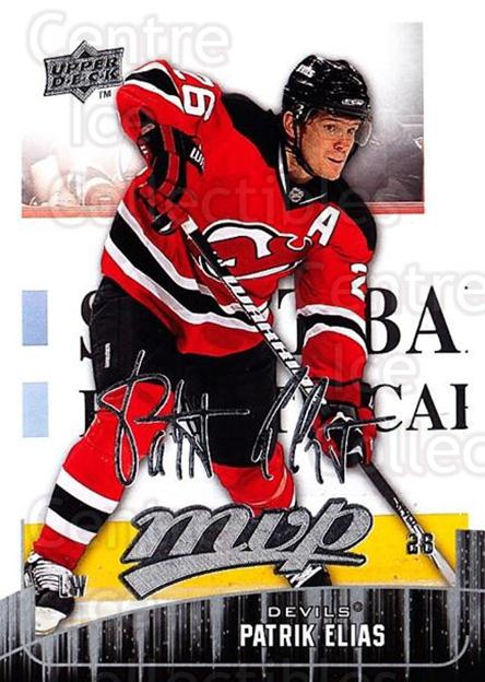 2009-10 Upper Deck MVP #121 Patrik Elias<br/>5 In Stock - $1.00 each - <a href=https://centericecollectibles.foxycart.com/cart?name=2009-10%20Upper%20Deck%20MVP%20%23121%20Patrik%20Elias...&quantity_max=5&price=$1.00&code=293618 class=foxycart> Buy it now! </a>