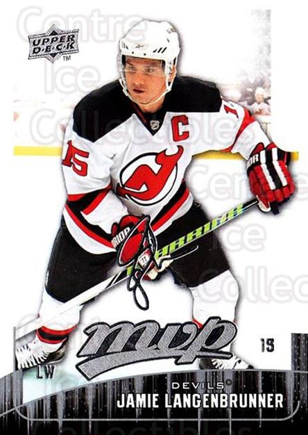 2009-10 Upper Deck MVP #122 Jamie Langenbrunner<br/>5 In Stock - $1.00 each - <a href=https://centericecollectibles.foxycart.com/cart?name=2009-10%20Upper%20Deck%20MVP%20%23122%20Jamie%20Langenbru...&quantity_max=5&price=$1.00&code=293619 class=foxycart> Buy it now! </a>
