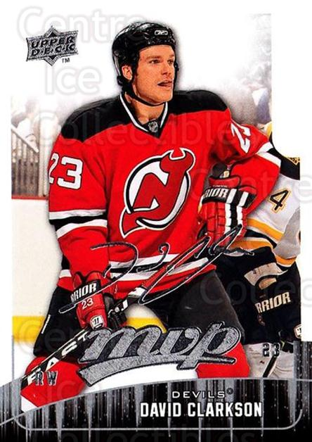 2009-10 Upper Deck MVP #125 David Clarkson<br/>5 In Stock - $1.00 each - <a href=https://centericecollectibles.foxycart.com/cart?name=2009-10%20Upper%20Deck%20MVP%20%23125%20David%20Clarkson...&quantity_max=5&price=$1.00&code=293622 class=foxycart> Buy it now! </a>