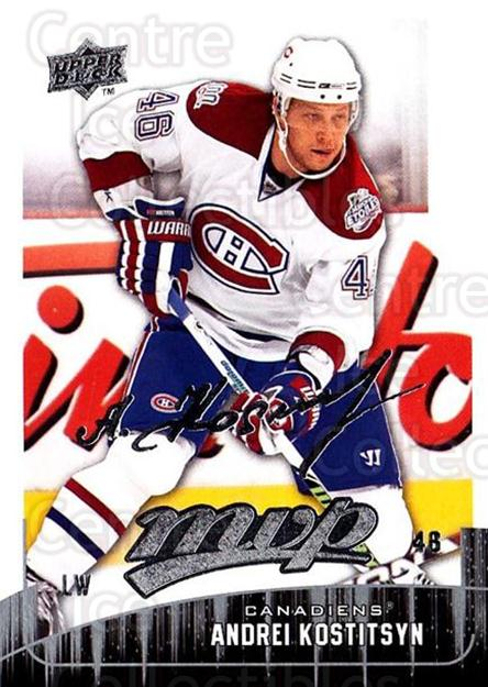 2009-10 Upper Deck MVP #140 Andrei Kostitsyn<br/>3 In Stock - $1.00 each - <a href=https://centericecollectibles.foxycart.com/cart?name=2009-10%20Upper%20Deck%20MVP%20%23140%20Andrei%20Kostitsy...&quantity_max=3&price=$1.00&code=293637 class=foxycart> Buy it now! </a>