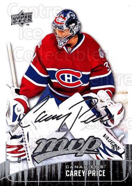 2009-10 Upper Deck MVP #141 Carey Price<br/>2 In Stock - $1.00 each - <a href=https://centericecollectibles.foxycart.com/cart?name=2009-10%20Upper%20Deck%20MVP%20%23141%20Carey%20Price...&price=$1.00&code=293638 class=foxycart> Buy it now! </a>