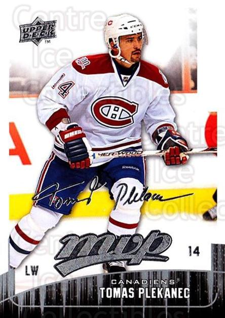 2009-10 Upper Deck MVP #142 Tomas Plekanec<br/>4 In Stock - $1.00 each - <a href=https://centericecollectibles.foxycart.com/cart?name=2009-10%20Upper%20Deck%20MVP%20%23142%20Tomas%20Plekanec...&quantity_max=4&price=$1.00&code=293639 class=foxycart> Buy it now! </a>
