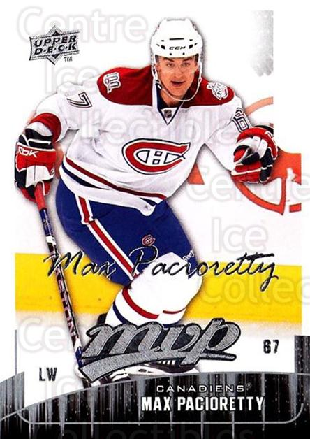 2009-10 Upper Deck MVP #146 Max Pacioretty<br/>3 In Stock - $1.00 each - <a href=https://centericecollectibles.foxycart.com/cart?name=2009-10%20Upper%20Deck%20MVP%20%23146%20Max%20Pacioretty...&quantity_max=3&price=$1.00&code=293643 class=foxycart> Buy it now! </a>