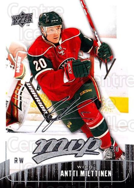 2009-10 Upper Deck MVP #157 Antti Miettinen<br/>4 In Stock - $1.00 each - <a href=https://centericecollectibles.foxycart.com/cart?name=2009-10%20Upper%20Deck%20MVP%20%23157%20Antti%20Miettinen...&quantity_max=4&price=$1.00&code=293654 class=foxycart> Buy it now! </a>