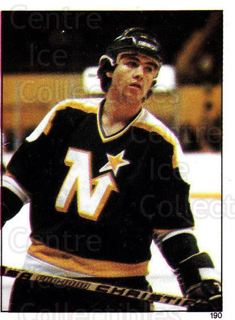1982-83 O-Pee-Chee Stickers #190 Neal Broten<br/>6 In Stock - $2.00 each - <a href=https://centericecollectibles.foxycart.com/cart?name=1982-83%20O-Pee-Chee%20Stickers%20%23190%20Neal%20Broten...&quantity_max=6&price=$2.00&code=29365 class=foxycart> Buy it now! </a>