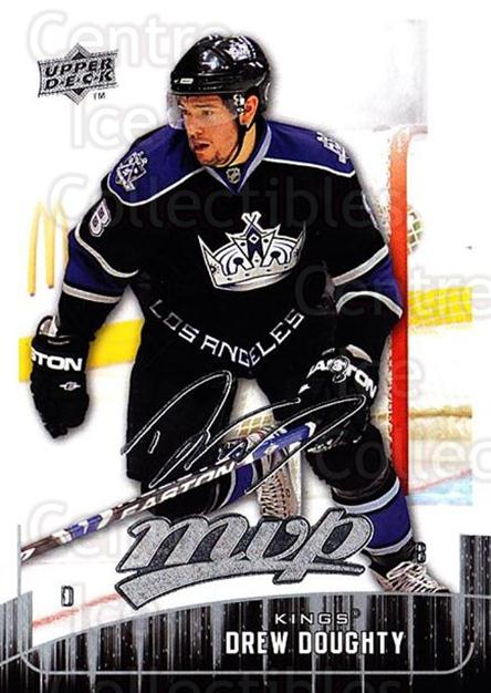 2009-10 Upper Deck MVP #163 Drew Doughty<br/>4 In Stock - $1.00 each - <a href=https://centericecollectibles.foxycart.com/cart?name=2009-10%20Upper%20Deck%20MVP%20%23163%20Drew%20Doughty...&quantity_max=4&price=$1.00&code=293660 class=foxycart> Buy it now! </a>