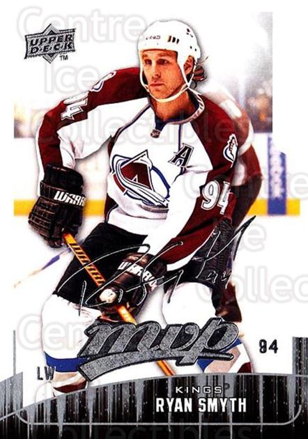 2009-10 Upper Deck MVP #168 Ryan Smyth<br/>4 In Stock - $1.00 each - <a href=https://centericecollectibles.foxycart.com/cart?name=2009-10%20Upper%20Deck%20MVP%20%23168%20Ryan%20Smyth...&quantity_max=4&price=$1.00&code=293665 class=foxycart> Buy it now! </a>