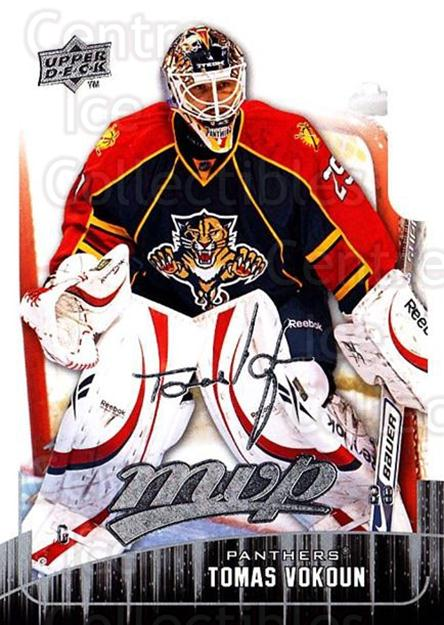 2009-10 Upper Deck MVP #169 Tomas Vokoun<br/>4 In Stock - $1.00 each - <a href=https://centericecollectibles.foxycart.com/cart?name=2009-10%20Upper%20Deck%20MVP%20%23169%20Tomas%20Vokoun...&quantity_max=4&price=$1.00&code=293666 class=foxycart> Buy it now! </a>