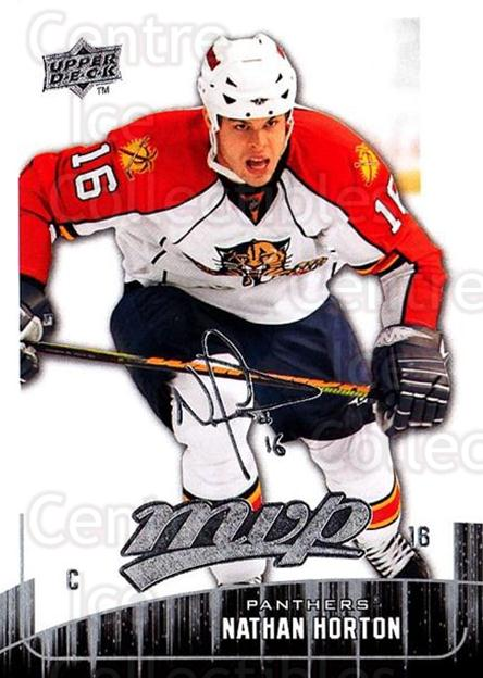 2009-10 Upper Deck MVP #173 Nathan Horton<br/>5 In Stock - $1.00 each - <a href=https://centericecollectibles.foxycart.com/cart?name=2009-10%20Upper%20Deck%20MVP%20%23173%20Nathan%20Horton...&quantity_max=5&price=$1.00&code=293670 class=foxycart> Buy it now! </a>