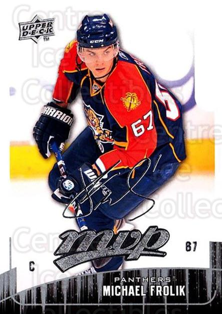 2009-10 Upper Deck MVP #174 Michael Frolik<br/>5 In Stock - $1.00 each - <a href=https://centericecollectibles.foxycart.com/cart?name=2009-10%20Upper%20Deck%20MVP%20%23174%20Michael%20Frolik...&quantity_max=5&price=$1.00&code=293671 class=foxycart> Buy it now! </a>