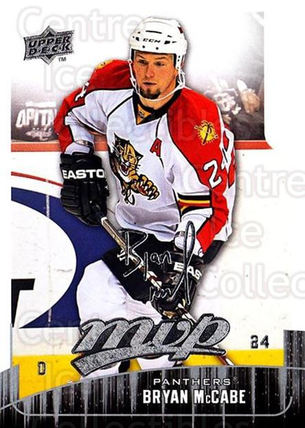 2009-10 Upper Deck MVP #175 Bryan McCabe<br/>5 In Stock - $1.00 each - <a href=https://centericecollectibles.foxycart.com/cart?name=2009-10%20Upper%20Deck%20MVP%20%23175%20Bryan%20McCabe...&quantity_max=5&price=$1.00&code=293672 class=foxycart> Buy it now! </a>