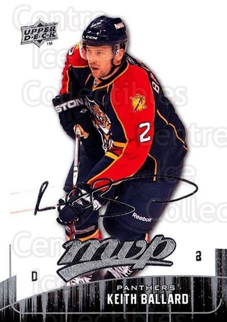 2009-10 Upper Deck MVP #176 Keith Ballard<br/>5 In Stock - $1.00 each - <a href=https://centericecollectibles.foxycart.com/cart?name=2009-10%20Upper%20Deck%20MVP%20%23176%20Keith%20Ballard...&quantity_max=5&price=$1.00&code=293673 class=foxycart> Buy it now! </a>