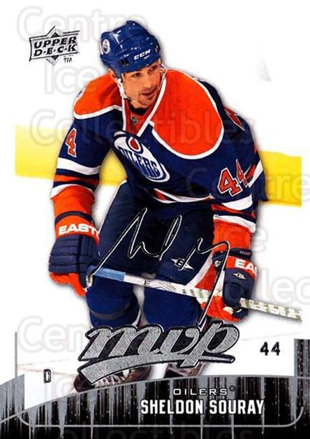 2009-10 Upper Deck MVP #180 Sheldon Souray<br/>5 In Stock - $1.00 each - <a href=https://centericecollectibles.foxycart.com/cart?name=2009-10%20Upper%20Deck%20MVP%20%23180%20Sheldon%20Souray...&quantity_max=5&price=$1.00&code=293677 class=foxycart> Buy it now! </a>