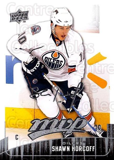 2009-10 Upper Deck MVP #181 Shawn Horcoff<br/>5 In Stock - $1.00 each - <a href=https://centericecollectibles.foxycart.com/cart?name=2009-10%20Upper%20Deck%20MVP%20%23181%20Shawn%20Horcoff...&quantity_max=5&price=$1.00&code=293678 class=foxycart> Buy it now! </a>