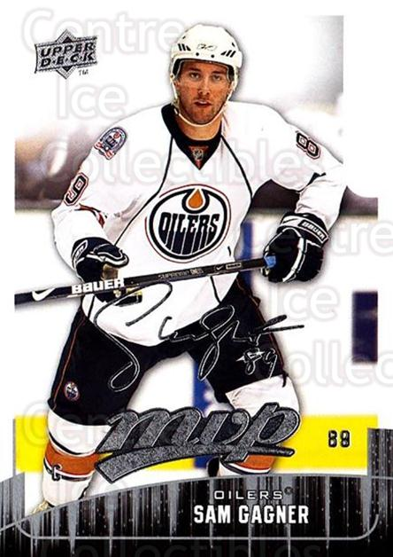 2009-10 Upper Deck MVP #184 Sam Gagner<br/>4 In Stock - $1.00 each - <a href=https://centericecollectibles.foxycart.com/cart?name=2009-10%20Upper%20Deck%20MVP%20%23184%20Sam%20Gagner...&quantity_max=4&price=$1.00&code=293681 class=foxycart> Buy it now! </a>