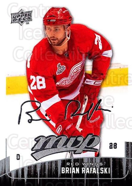 2009-10 Upper Deck MVP #192 Brian Rafalski<br/>5 In Stock - $1.00 each - <a href=https://centericecollectibles.foxycart.com/cart?name=2009-10%20Upper%20Deck%20MVP%20%23192%20Brian%20Rafalski...&quantity_max=5&price=$1.00&code=293689 class=foxycart> Buy it now! </a>