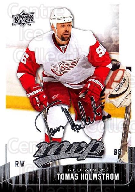 2009-10 Upper Deck MVP #194 Tomas Holmstrom<br/>5 In Stock - $1.00 each - <a href=https://centericecollectibles.foxycart.com/cart?name=2009-10%20Upper%20Deck%20MVP%20%23194%20Tomas%20Holmstrom...&quantity_max=5&price=$1.00&code=293691 class=foxycart> Buy it now! </a>